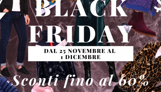 Black Friday : diamo il via allo shopping su Romeolimpiastore.it