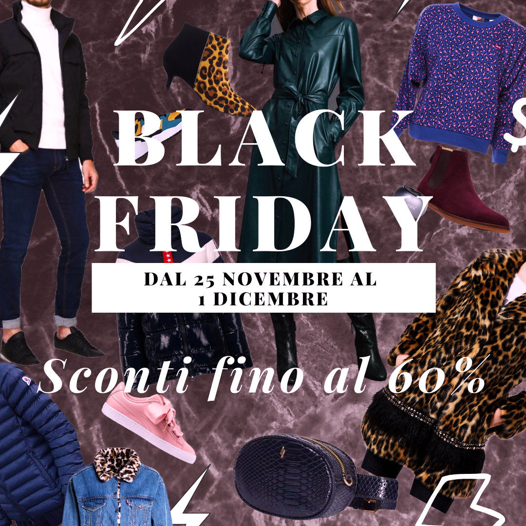 Black Friday : diamo il via allo shopping su Romeolimpiastore.it