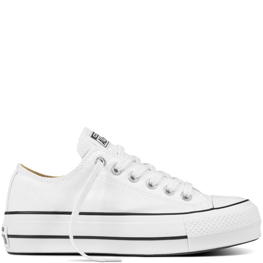 Converse All Star Platform bianca