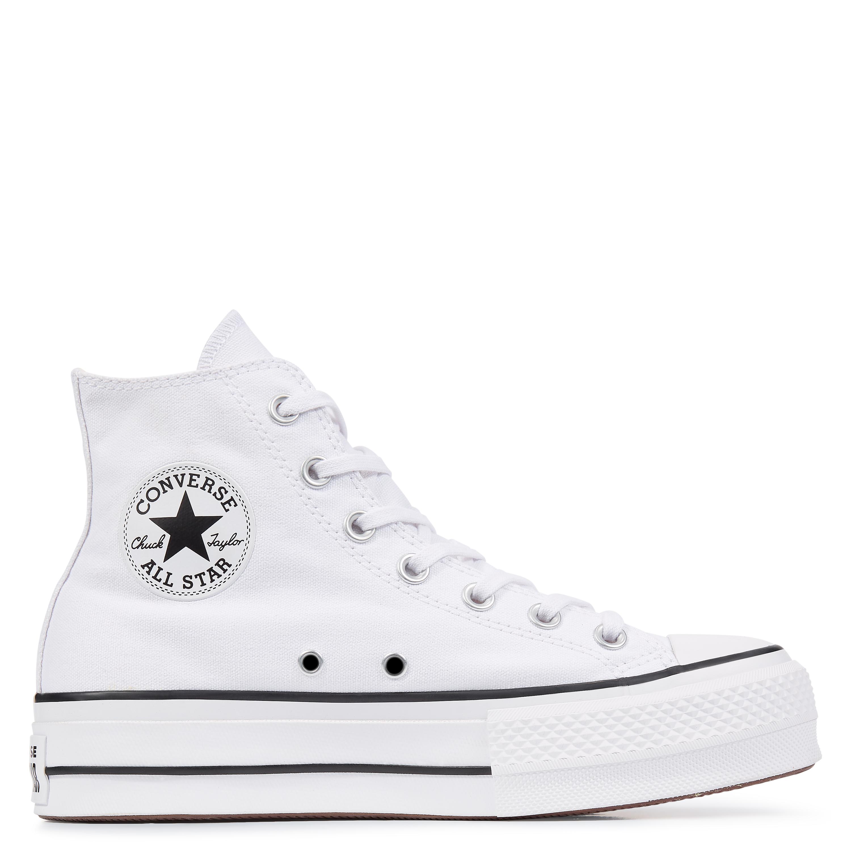 Converse All Star Platform High Top bianco