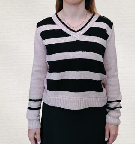 maglione twin set rosa e nero