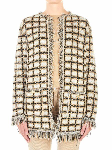 giacca kaos tartan