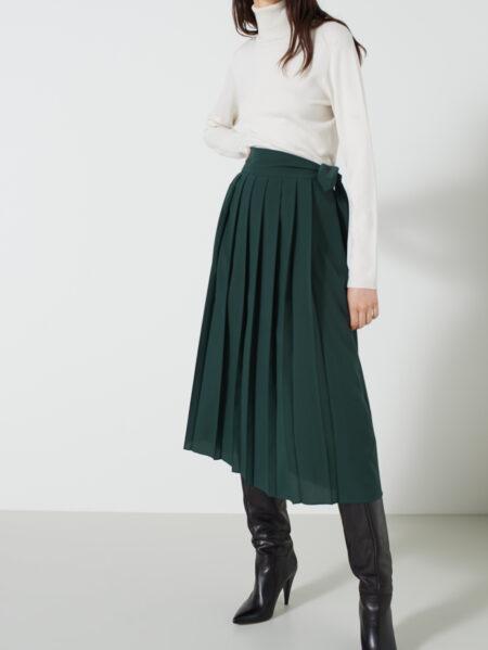 pantalone emme marella verde