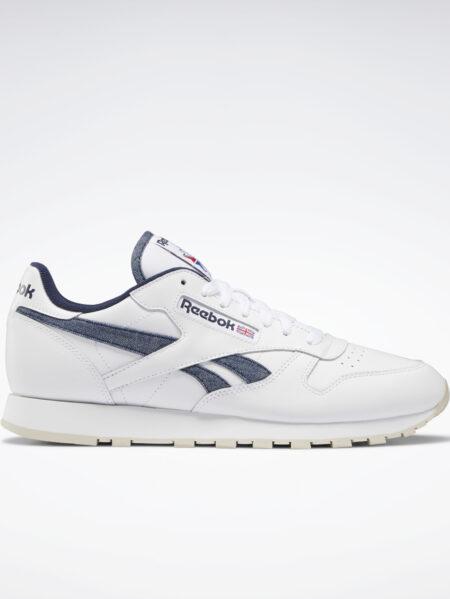 scarpe reebok modello cl in pelle