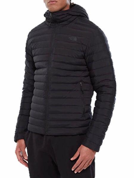 giacca elasticizzata in piumino