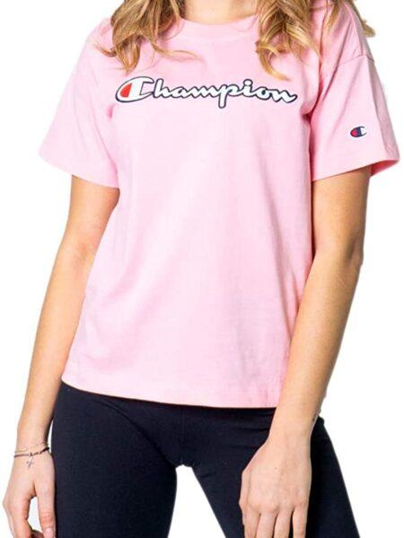 t-shirt champion donna rosa