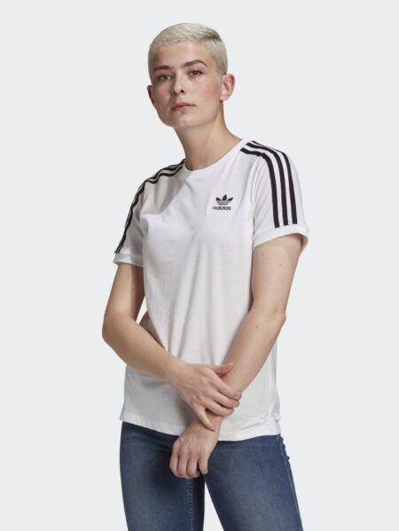 t-shirt adidas bianco