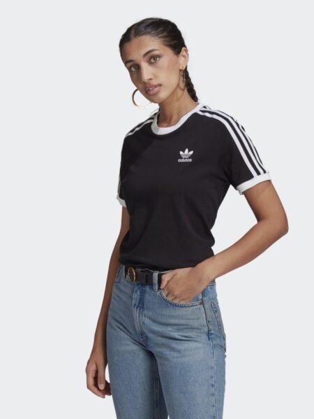 t-shirt adidas donna adi color nero