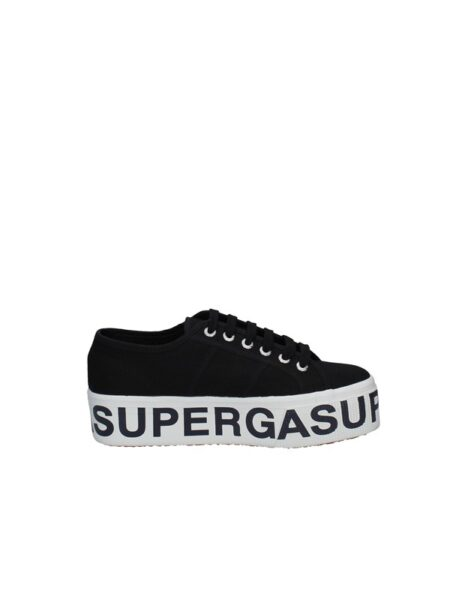 superga lettering nero