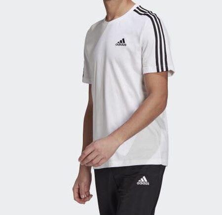 t-shirt adidas sport bianca