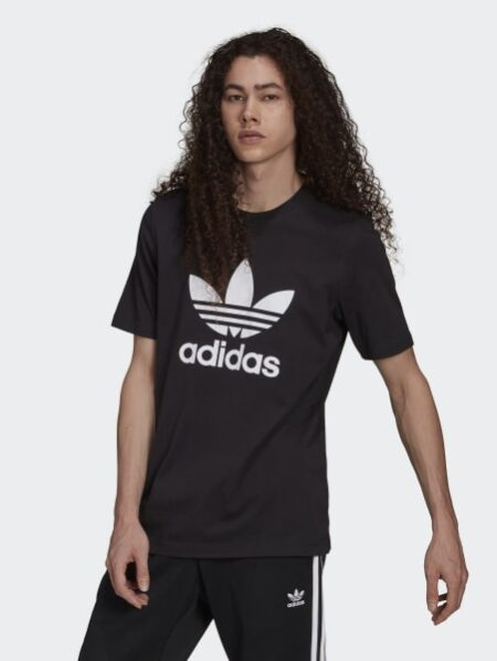 t-shirt adidas originals nera