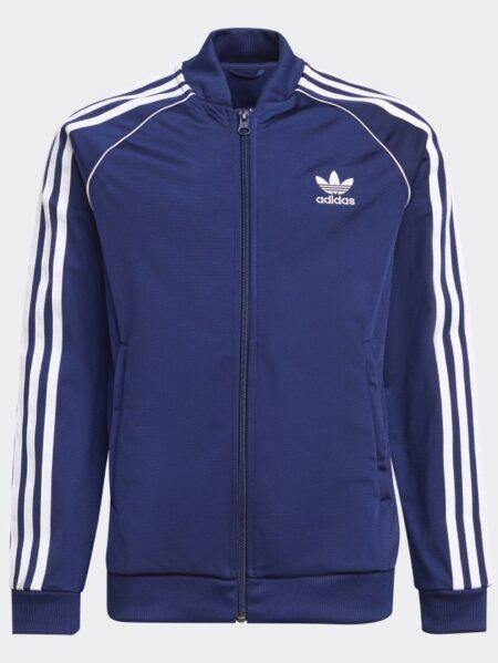 giacca adidas originals junior bluette