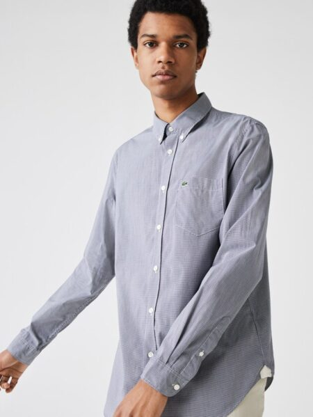 camicia lacoste uomo quadr