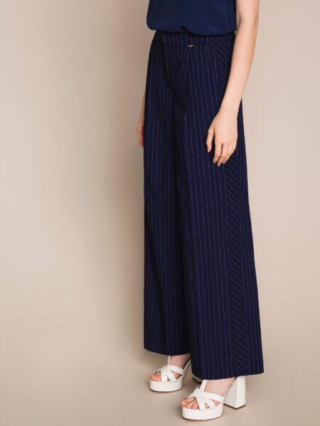 pantalone twin set righe
