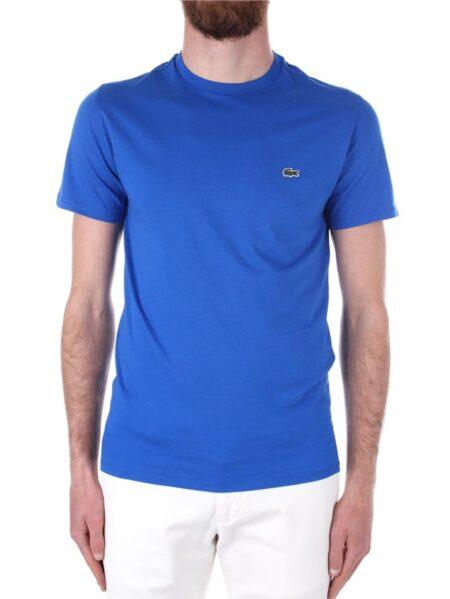 t-shirt lacoste pima bluette