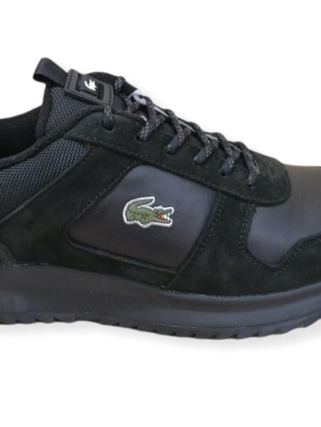 scarpe lacoste joggeur nero