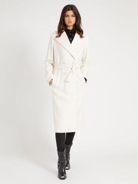 cappotto guess bianco