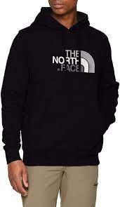 felpa the north face nero cappuccio
