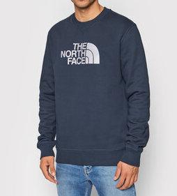 felpa the north face azzurro