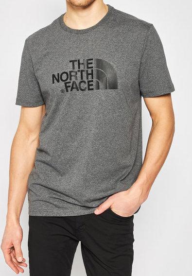 t shirt the north face manica corta grigio