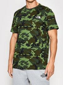 t-shirt the north face mimetico uomo